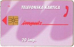 SLOVENIA SCHEDA TELEFONICA Nepotiskane - (Opomba: Naklada Se Spreminja) B087205 - Schede Telefoniche