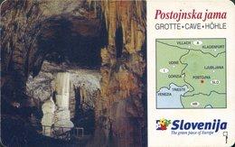 SLOVENIA SCHEDA TELEFONICA Postojnska Jama - Ponatis - Telefonkarten