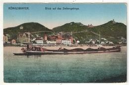 KÖNIGSWINTER - Blick Auf Das Siebengebirge - Koenigswinter