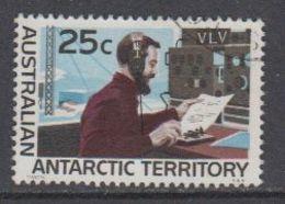AAT 1966 Definitive 25c / Radiostation 1v Used  (40783F) - Australisch Antarctisch Territorium (AAT)