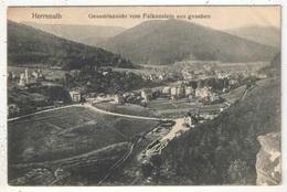 HERRENALB - Gesamtansicht Vom Falkenstein Aus Gesehen - 1907 - Bad Herrenalb