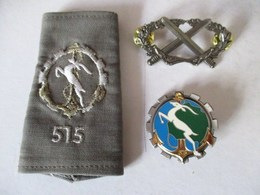 LOT 515 EME REGIMENT DU TRAIN G 2641 Y DELSART SENS ANGOULEME CHARENTE FORET DE LA BRACONNE ZOUAVE TIRAILLEUR ALGERIEN - Army & War