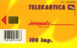 SLOVENIA SCHEDA TELEFONICA Poletje - Prijetno Letovanje - Telefonkarten