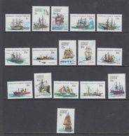 AAT 1979 Definitives / Ships 16v ** Mnh (40783G) - Australisch Antarctisch Territorium (AAT)