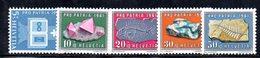 538/1500 - SVIZZERA 1961 ,  Unificato N. 677/681  ***  MNH  Pro Patria - Pro Patria