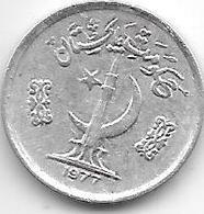 *pakistan 1 Paisa 1977 Km 33 Unc - Pakistan