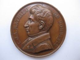 Médaille Comice Agricole De Provins Mathieu De Dombasle, Par Bescher - Other