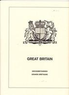 LINDNER T 146/81 GRANDE-BRETAGNE 1981-1989 COMPLET - Albums & Reliures