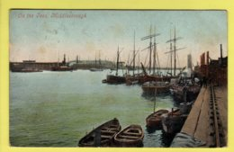 Yorkshire - Middlesbrough, On The Tees, Fishing Boats - Valentine Postcard - 1905 - England