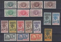 Sénégal   N° 30 à 46  Neuf ** - Unused Stamps