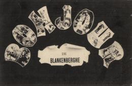 BELGIQUE - FLANDRE OCCIDENTALE - BLANKENBERGHE - 2 Cartes - La Plage Et Le Pier -  Bonjour De ... - Blankenberge