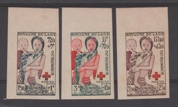 LAOS  1953  IMPERF / NON DENT  CROIX ROUGE / RED CROSS  **MNH     Réf  25 - Laos