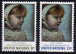 United Nations 1971 Set Of Stamps To Celebrate U.N. International Schools. - New York -  VN Hauptquartier