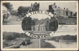 Multiview, Pangbourne, Berkshire, C.1950s - TVAP Postcard - England