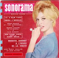 SONORAMA N° 23 - BRIGITTE BARDOT - Speciale Formaten