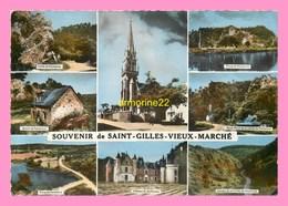 CPM  SAINT GILLES VIEUX MARCHE - Saint-Gilles-Vieux-Marché