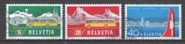 Switzerland 1953 Mi 585-587 Canceled - Gebraucht