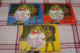 Chocolade Meurisse : 3 Albums De Atlantische Legers - Les Armées Atlantiques ( Volledig-Complèt ) - Chocolate