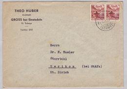 Brief Von Gross Bei Einsiedeln (br5363) - Switzerland