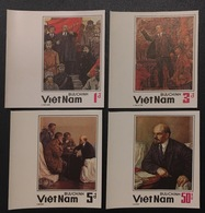 Vietnam Viet Nam MNH Imperf Stamps 1984 : 60th Death Anniversary Of Lenin (Ms454) - Vietnam