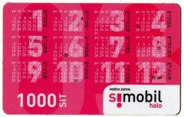 SLOVENIA SCHEDA TELEFONICA Calendar 2003 - Tarjetas Telefónicas