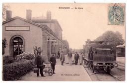 2708 -  Brioude ( 43 ) - La Gare - D.Chouvet édit. - - Brioude