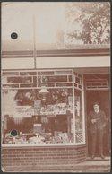 Henry Charles Leisten, Tobacconist, Horsham, Sussex, C.1920s - RP Postcard - England