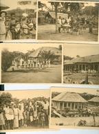 CP. (6) Léproserie De Lombolombo Wafanya Prov. Orientale ? 6 CP Nels Ern. Thill Congo Belge - Congo Belge - Autres