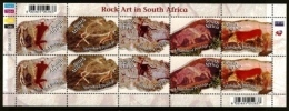 RSA, 2006, MNH Sheet Of Stamps  , SACC 1758-1762, Rock-Art In South Africa, F2559 - South Africa (1961-...)