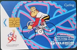 Telefonkarte Malaysia - Sport - Radfahren - Sport