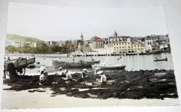 Antigua Postal - Vizcaya, Bermeo, Repasando Las Redes / García Garrabella - Vizcaya (Bilbao)