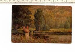 SCHK 337 - AM WEIGER A L ETANG - Peintures & Tableaux