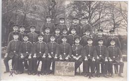 Soldaten Gruppenfoto - 2. Ers. MGK - Rgt Königin Elisabeth - Feldpost  -  AK 8988 - Régiments