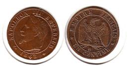 France  1 Centime  1862 BB   1c - Francia