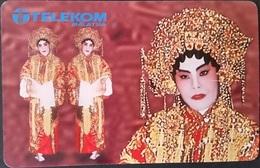 Telefonkarte Malaysia - Tradition - Kostüm - Malaysia