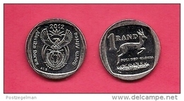 SOUTH AFRICA 2012 Nicely  Used Coin 1 Rand C1500 - Zuid-Afrika