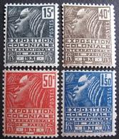 R1752/659 - 1930 - EXPOSITION COLONIALE INTERNATIONALE DE PARIS - N°270 à 273 NEUFS* - Cote : 16,00 € - France