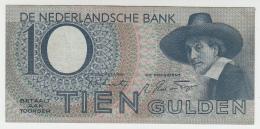 Netherlands 10 Gulden 1944 VF+ Pick 59 - [2] 1815-… : Koninkrijk Der Verenigde Nederlanden