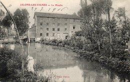 CPA - JALONS-les-VIGNES (51) - Aspect Du Moulin En 1906 - Autres Communes