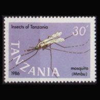 TANZANIA 1987 - Scott# 368a Mosquito Set Of 1 MNH - Tanzania (1964-...)