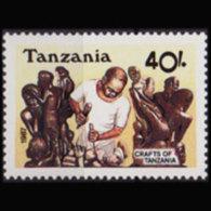 TANZANIA 1987 - Scott# 381a Carver Set Of 1 MNH - Tanzania (1964-...)