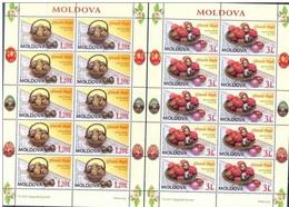 MD 2009-647-8 ESTER, MOLDAVIA, 2MS, MNH - Ostern