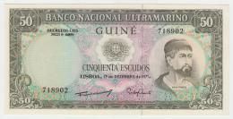 Portuguese Guinea 50 Escudos 1971 UNC NEUF Pick 44 - Guinée