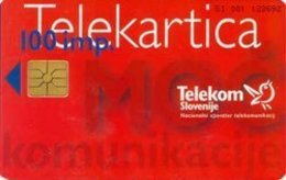 SLOVENIA SCHEDA TELEFONICA Strenght Of Communication / Advent Wreath - Tarjetas Telefónicas