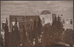 Hebrew University, Mount Scopus, Jerusalem, C.1930 - American Colony Stores RP Postcard - Israel