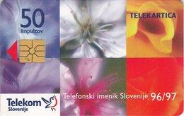 SLOVENIA SCHEDA TELEFONICA Telephone Directory 1996/97 - Schede Telefoniche