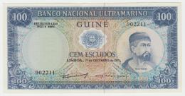 Portuguese Guinea 100 Escudos 1971 UNC NEUF Pick 45 - Guinée