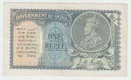 INDIA 1 RUPEE 1935 VF+ Pick 14a - India