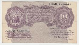 Great Britain 10 Shillings 1940-48 VG+ Pick 366 - 10 Shillings