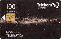 SLOVENIA SCHEDA TELEFONICA Rimska Cesta / Pomembne Klicne Številke V Sloveniji - Schede Telefoniche